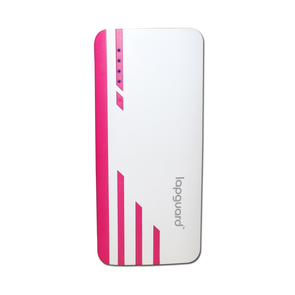 Lapguard 13000 mAh Lithium Ion Power Bank Sailing 1530  White Red  Mobile Portable Power Banks