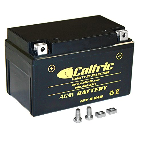 CALTRIC AGM BATTERY Fits HONDA VT600C VT-600C Shadow VLX 600 2004-2007