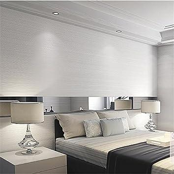 Xzzj Moderne Und Minimalistische Nadelstreifen Reine Farbe Vliestuch Schlafzimmer  Warme Farbe Tapete Wohnzimmer Mit Fliesen Tapeten