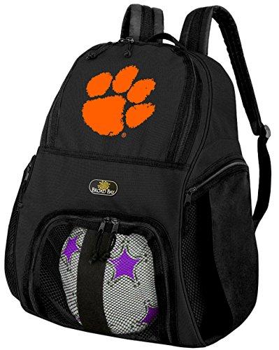 クレムソン大学サッカーバックパックまたはClemson Tigersバレーボールバッグ