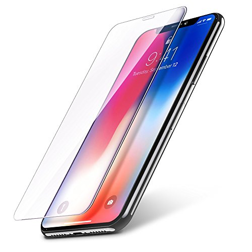iPhone X Screen Protector (3-Pack), iPhone X Tempered Glass Film, Vontox Glass Screen Protector for Apple iPhone X/iPhone 10 2017 [3D Touch] [Ultra Clear]