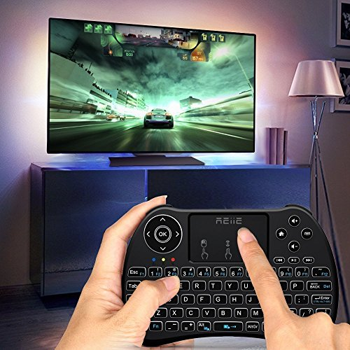 2017-Backlit-VersionREIIE-H9-Backlit-Wireless-Mini-Handheld-Remote-Keyboard-with-Touchpad-Work-for-PCRaspberry-Pi-2-Android-TV-Box-KODIWindows-7-8-10