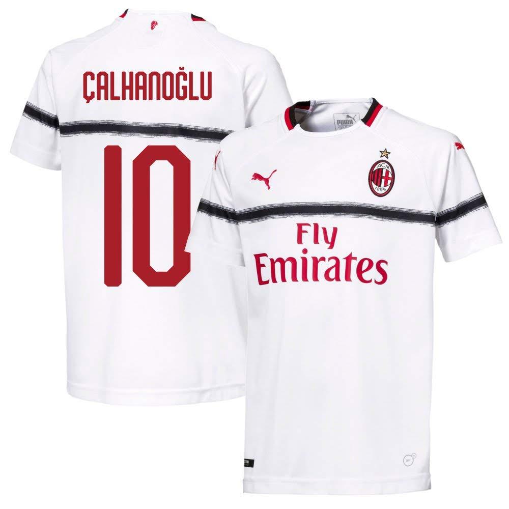 AC Mailand Away Trikot 2018 2019 + Calhanoglu 10 (Fan Style) - XXL
