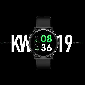 Kingwear KW19 - Reloj inteligente (pantalla TFT de 1,3 pulgadas ...