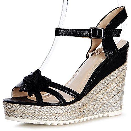 Noir Noir Sandalettes Femmes Sandales Topschuhe24 Topschuhe24 Femmes Sandales Topschuhe24 Sandalettes w8xAzwdq6
