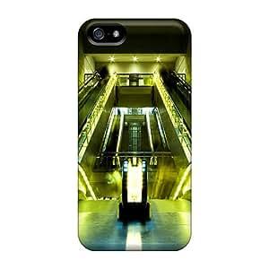 StarFisher Qdamk460qPICF Protective Case For Iphone 5/5s(escalators)
