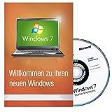 Windows 7 Home Premium 64 Bit MAR Version Hologramm DVD und COA