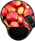 MSD Natural Rubber Mousepad wrist protected Mouse Pads/Mat with wrist support design 33065173 Closeup to Pink Apples