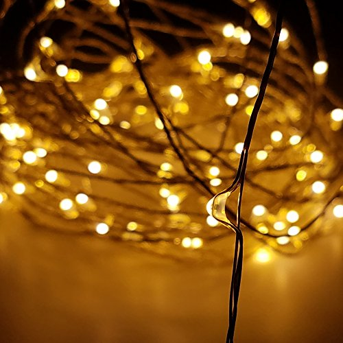 Dimmable Outdoor Patio Lights: Rayhoo Outdoor String Lights, Dimmable LED String Lights