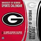 Georgia Bulldogs: 2020 12x12 Team Wall Calendar