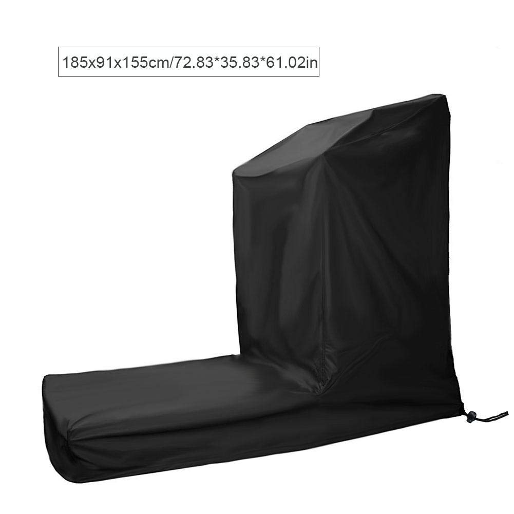 Treadmill Cover - Non-Folding Sports Running Machine Cover Made of Dustproof & Waterproof Polyester Fabric, Fitness Equipment Protective Cover for Indoor/Outdoor Use
