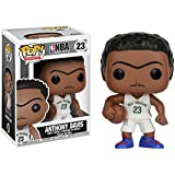 Funko Anthony Davis POP! Sports x NBA Vinyl Figure + 1 Official NBA Trading Card Bundle (21831)