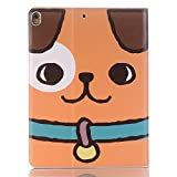 Ipad Pro 12.9 Cartoon Lightweight PU Leather Case,Boens Cover Luxury Folio Multi-Angle Viewing Stand With Card Slots Sleep/Wake Function Screen Protective for iPad pro 12.9 inch