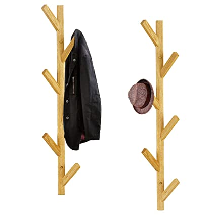 Axdwfd - Perchero de Pared con Forma de árbol de Madera ...