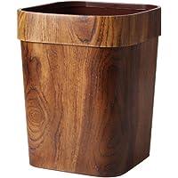 سلة مهملات مربعة 14 لتر من VOSAREA حاوية نفايات لسلة مهملات للمنزل والمطبخ والحمام والمكتب