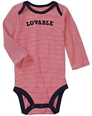Embroidered LOVABLE Child of Mine Baby Bodysuit Dress Up Outfit