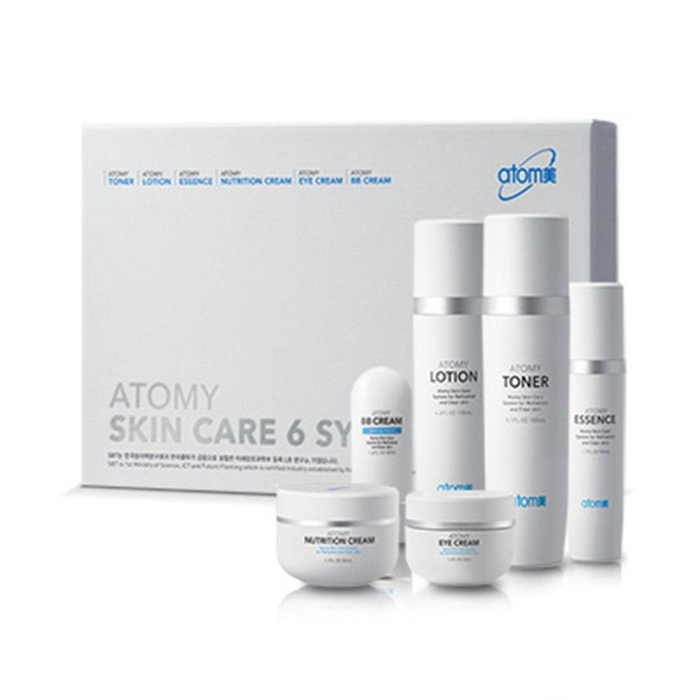 [Atom美 アトミ/ Atomy] Atomi Skin Care 6 System/スキンケア6システム+[Sample Gift](海外直送品) B01N0NF0AO