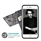 iPhone 7 Plus Wallet Case, ZVEdeng iPhone 8 Plus