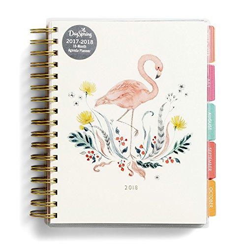 2018 Agenda Planner - Flamingo