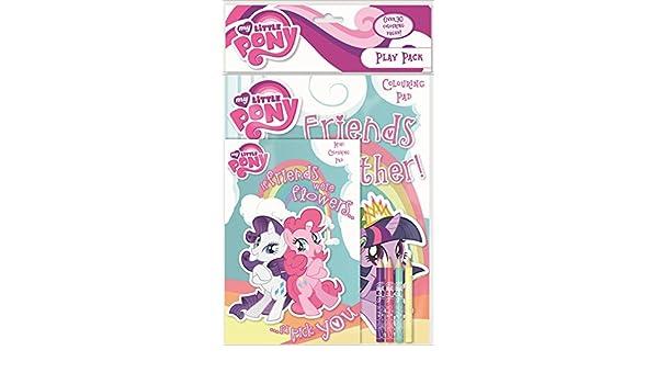 My Little Pony - Play Pack Libro para colorear lápices de colores ...