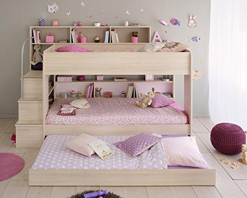 PARISOT Etagenbett BIBOP incl. Bettschubkasten