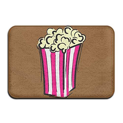Popcorn Clip Art Indoor Outdoor Entrance Rug Non Slip Bath Mat Doormat Rugs For Home
