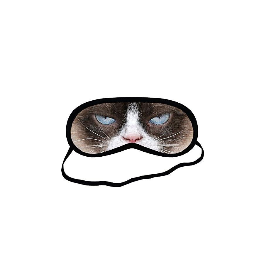 Grumpy Cat EYM053 Eye Printed Travel Eye Mask Sleeping