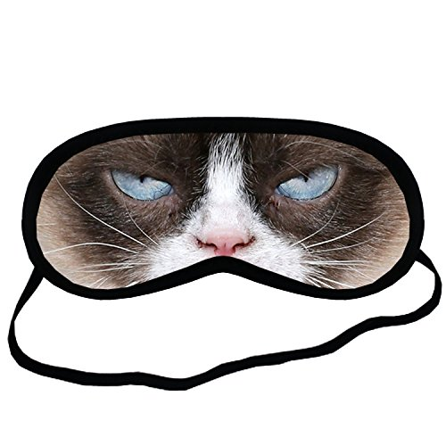 Grumpy Cat EYM053 Eye Printed Travel Eye Mask Sleeping