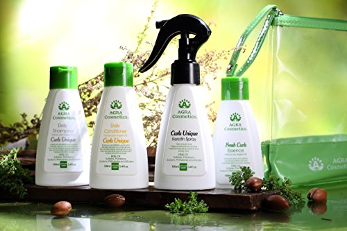 Agra Cosmetics  Travel Set For Curly Hair