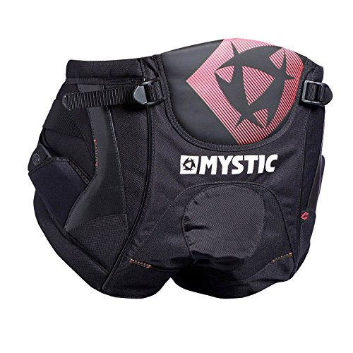 Mystic STAR Windsurf Seat Harness 2015 - Black/Red L