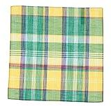 Tommy Hilfiger Sullivan Plaid Pocket Square-Green