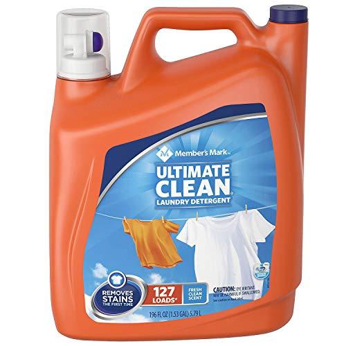 Member's Mark Ultimate Clean Liquid Laundry Detergent (196 oz., 127 loads)