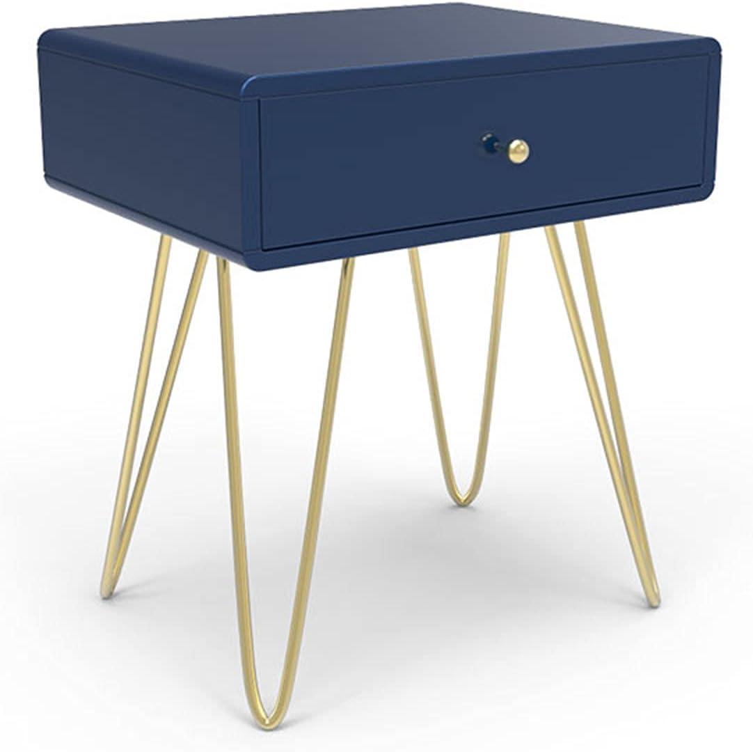 Mesas simples azules