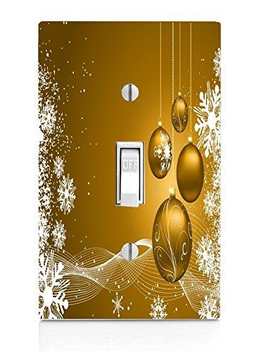 B0182LUVEIクリスマスゴールドライトスイッチプレート B0182LUVEI, うまかねっと九州食材問屋発:d3827863 --- lindauprogress.se