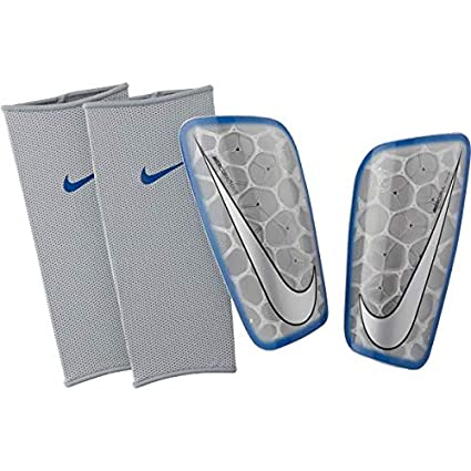 available recognized brands free delivery Amazon.com : Nike Men's Mercurial Flylite Soccer Shin Guards ...