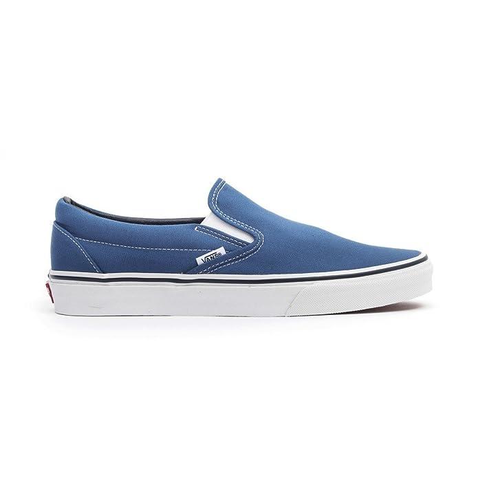Vans Unisex-Erwachsene Classic Slip-On Low-top Blau