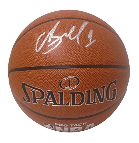 Detroit Pistons Chauncey Billups Autographed Hand Signed NBA Spalding Basketball with Proof Photo of Signing, Denver Nuggets, New York Knicks, LA Clippers, COA