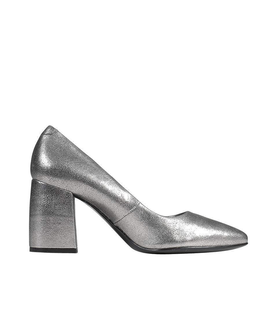 JANET & JANET Damen Pump Marla in Silber Silber Silber adc901