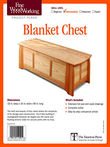 Fine Woodworking's Blanket Chest Plan (Fine Woodworking Project Plans) - Crafts Blanket Chest