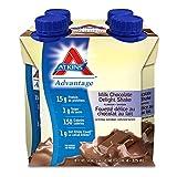 Atkins Advantage Shakes, Milk Chocolate Delight, 4 Count