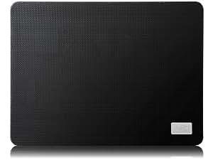 DeepCool N1 Slim - Base portátil con ventilador, negro