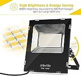 Albrillo 100 Watt LED Flood Lights Outdoor, 250W