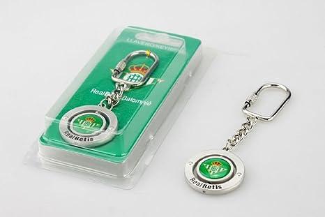 Llavero Giratorio Escudo Real Betis: Amazon.es: Deportes y ...