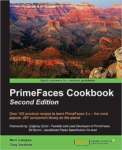 PrimeFaces Cookbook - Second Edition: Mert Çaliskan, Oleg