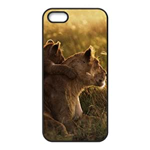 Iphone 5/5S Case, Lion Family Case for Iphone 5/5S Black Leemarson if4112919