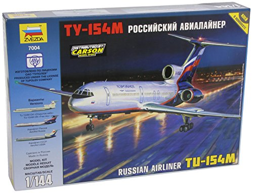 1:144 Russian Airliner Tu-154m Model Plane Kit