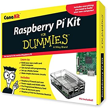 CanaKit Raspberry Pi Kit For Dummies (Pi 3 Included)