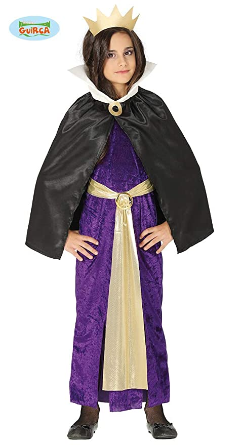 Guirca Costume Grimilde Regina Biancaneve Carnevale Bambina 8779  10-12 Anni b4c54c78641e