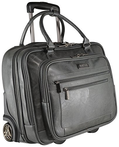 Kenneth Cole Reaction Wheeled Carry-On Tote, Grey from Kenneth Cole REACTION