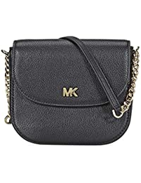 Michael Kors Mott Crossbody Bag- Black